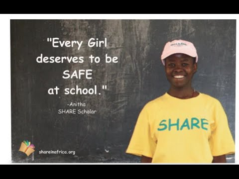 """Every girl deserves to be safe at school."" - Anitha"