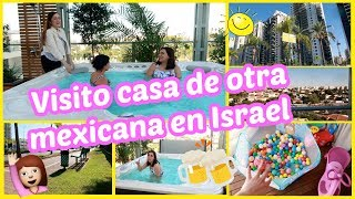 Amiga MEXICANA nos INVITA A SU CASA EN ISRAEL Vlogs diarios en español    Familia amuzkis♡16-11-19
