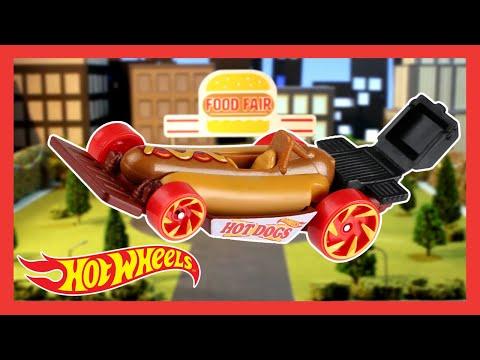 Ultimate Hot Wheels MEGA city food FAIR adventure! | Hot Wheels