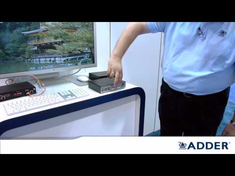 ADDERLink INFINITY dual - DVI Fiber Extender