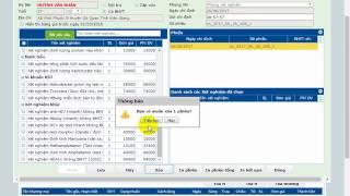 Hướng dẫn khám bệnh ngoại trú trên phần mềm vnpthis (dành cho khoa khám bệnh, cấp cưu, ngoại, sản)