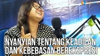 (#RADARBALI MUSIK #PART1) MAYA AGREVINA LANTUNKAN POTRET INDONESIA DAN MENABUR NYALI
