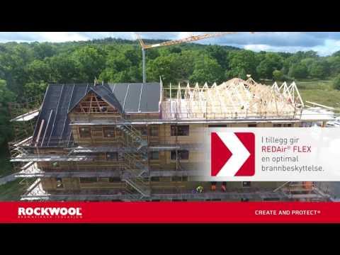Kungsängen - Isolerer bærekraftige boliger med REDAir® FLEX