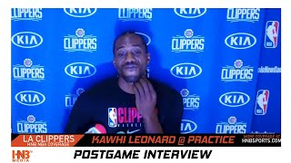 Kawhi Leonard talks LA Clippers depth + NBA Bubble 7.29.20