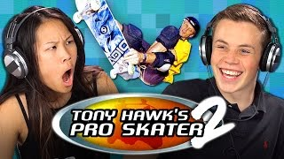 TEENS GAMING: TONY HAWK'S PRO SKATER 2