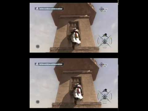 YT3D : Assassin's Creed (iz3d driver)