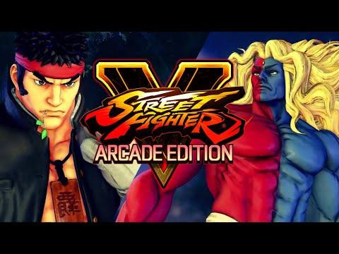 STREET FIGHTER V AE: Ryu VS Gill