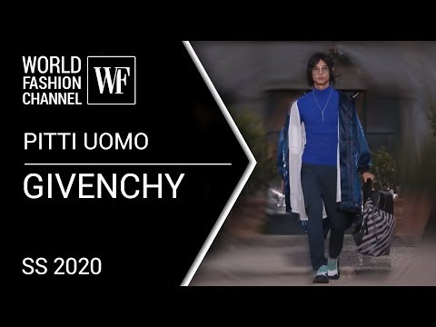 GIVENCHY SPRING-SUMMER 2020 PITTI UOMO | Mans and women fashion show