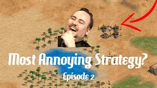 AoE2 - The Most Annoying Strategy? Episode 2