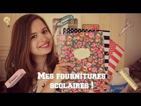 back to school mes fournitures scolaires haul. Black Bedroom Furniture Sets. Home Design Ideas