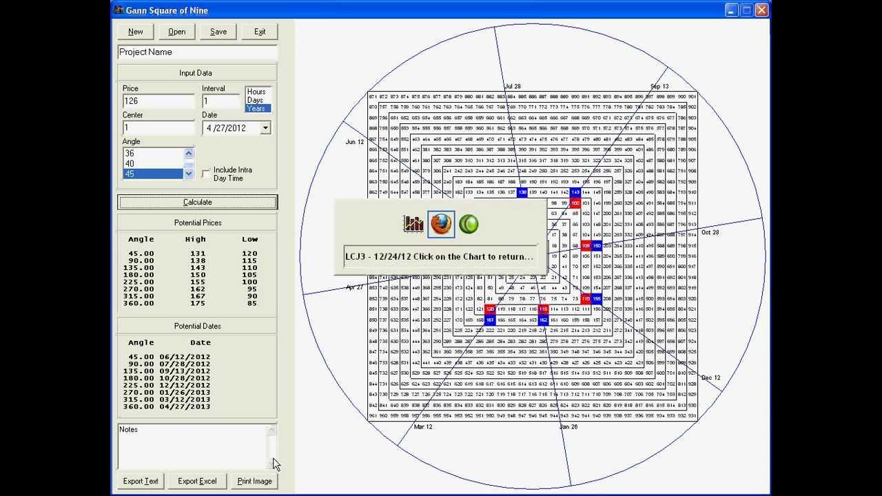 free gann calculator software download