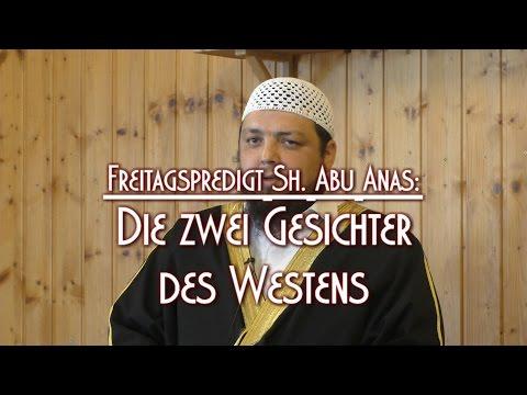 DIE ZWEI GESICHTER DES WESTENS mit Sh. Abu Anas am 21.08.2015 in Braunschweig