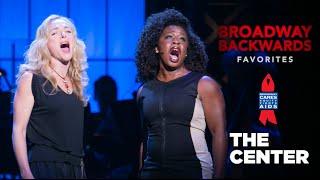 "Uzo Aduba, Rachel Bay Jones sing ""Lily's Eyes"" - Broadway Backwards 2014"