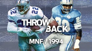 Emmitt Smith vs. Barry Sanders Monday Night Showdown | NFL Vault Stories