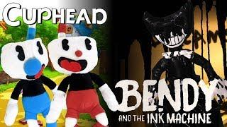 "Cuphead Plush – ""Cuphead vs. Bendy and The Ink Machine"""