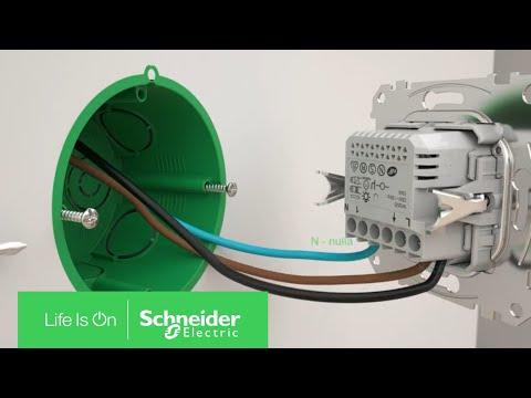 Motion Sensor Installation / Mozgásérzékelő telepítése | Schneider Electric