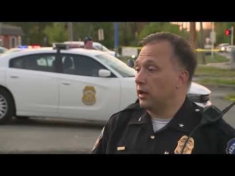 IMPD speaks on May 6, 2020 following the shooting of Sean Reed