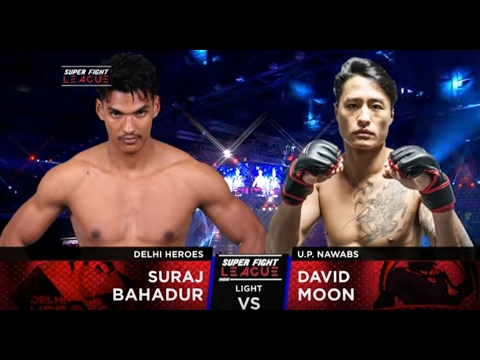 Suraj Bahadur v/s David Moon | Delhi Heroes v/s UP Nawabs