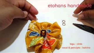 Cara membuat kalung simple dari kain perca & kawat tembaga ...