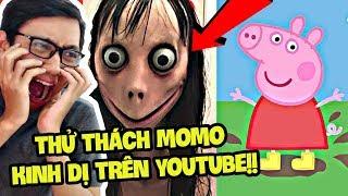 THỬ THÁCH MOMO CHALLENGE PEPPA PIG LÀ CÁI GÌ?? (Sơn Đù Vlog Reaction)