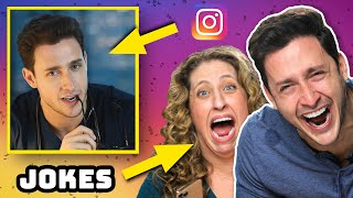 Comedian Reacts To My IG Posts | Try Not To Laugh