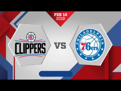 Philadelphia 76ers vs Los Angeles Clippers
