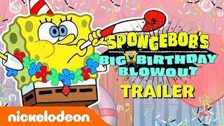 SpongeBob's Birthday Blowout EXTENDED Trailer! 🎂 | Nick