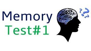 Memory Test #1