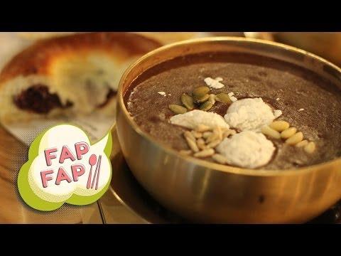 Korean Red Bean Porridge