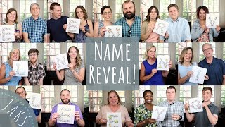 Unique Baby Name Reveal | Heartfelt Message to Our Daughter