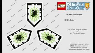 Scan All Nexo Shields 3 [48 Lance Shields] - Khiên Nexo 3 nâng cấp