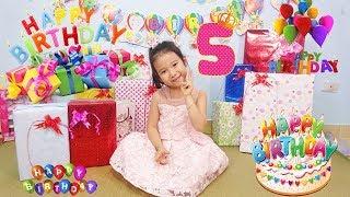 BÓC QUÀ SINH NHẬT - Chúc mừng sinh nhật dâu tây ♥ Dâu Tây Channel
