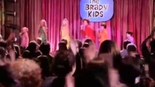 Kaley Cuoco in Growing Up Brady Band Clip