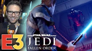 E3 2019 : On a joué à Star Wars Jedi Fallen Order et on y voit plus clair !