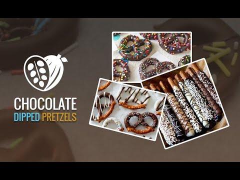 Amazing Chocolate Dipped Pretzels Recipe - Chocolak.com