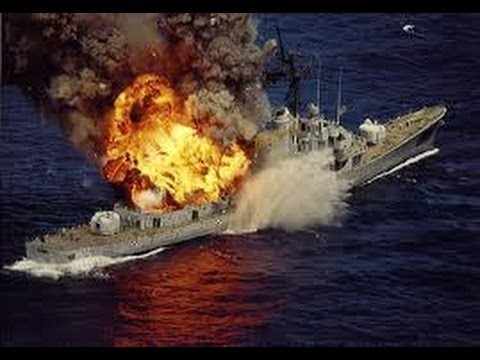 Tsunami Ghost Ship Gets Blown Up The Ship Is Sunk By Us