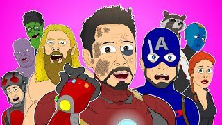 ♪ AVENGERS ENDGAME THE MUSICAL - Animated Parody Song