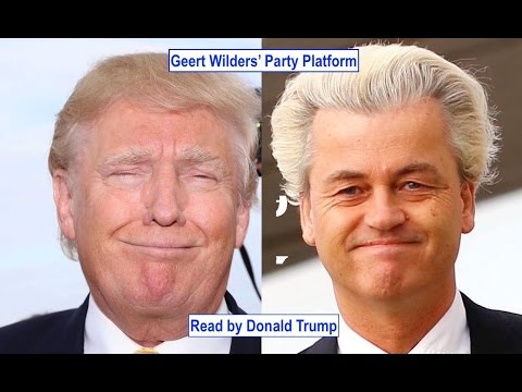 Donald Trump Reacts to... Dutch Elections & Geert Wilders | GSUSE