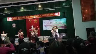 DANCE COVER 12AB 20-11 Bình yên những phút giây - Shape of You - BangBang