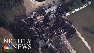 Police Officer Saves Others As His Home Burns In Massachusetts Gas Explosions | NBC Nightly News - YouTube