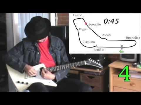Imita sonido formula1 con la guitarra