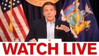 NY Gov. Cuomo holds COVID-19 briefing