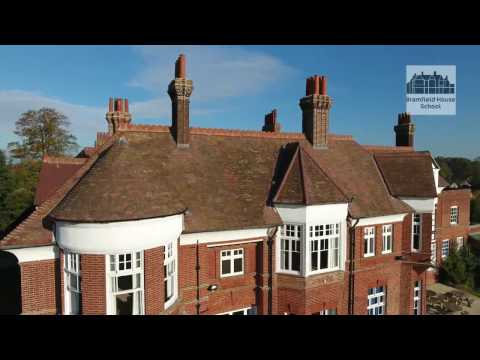 Aerial tour of Bramfield House School