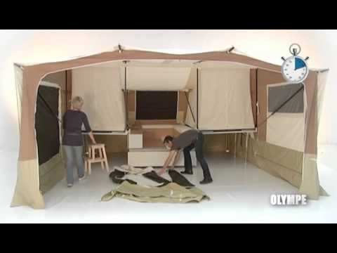 Short Video Showing Triganos Largest Family Trailer Tent