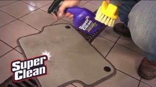 How To Clean Your Car With SuperClean
