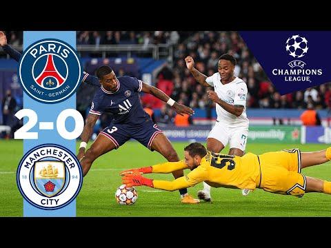 Man City Highlights   PSG 2-0 MAN CITY   Champions League