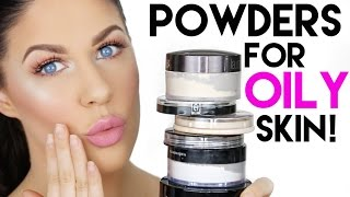 THE BEST SETTING POWDERS FOR OILY SKIN!!