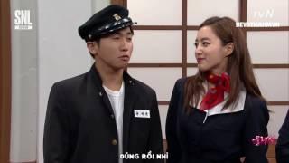 [BEWITHAHMVN][VIETSUB] EUNJUNG CUT @ SNL KOREA SS9