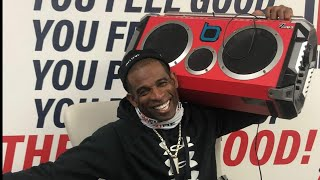 """Coach Deion Sanders gets his Boombox back    """"THE COMMUNITY SUPPORTS COACH PRIME""""    JSU Tigers"""