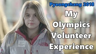 나의 2018 평창올림픽 경험 // My experience as Pyeongchang 2018 Olympics volunteer